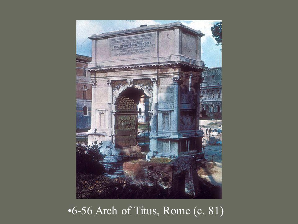 6-56 Arch of Titus, Rome (c. 81)