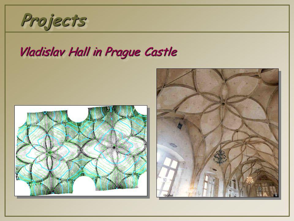 ProjectsProjects Vladislav Hall in Prague Castle