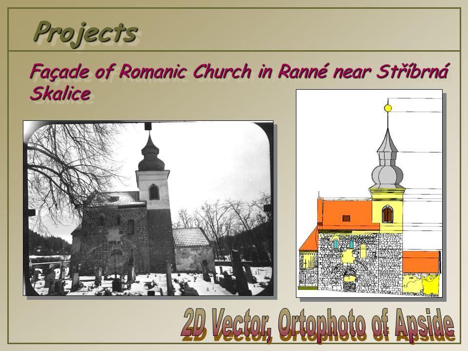 ProjectsProjects Façade of Romanic Church in Ranné near Stříbrná Skalice