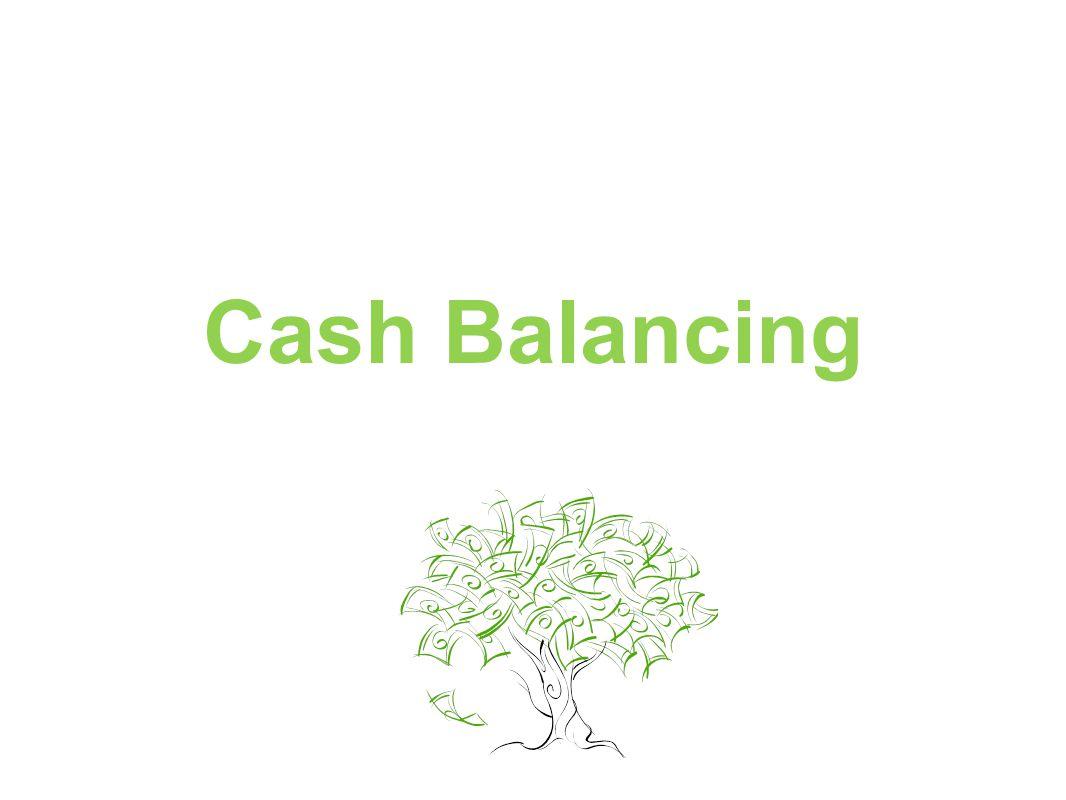 Cash Balancing