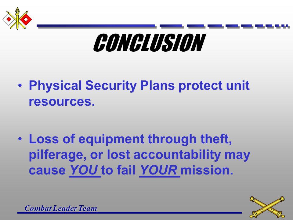 Combat Leader Team QUESTIONS ?