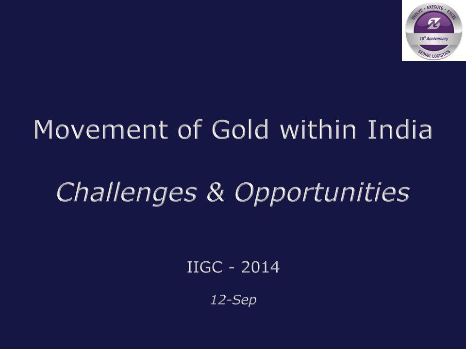 IIGC 2014SEQUEL LOGISTICS
