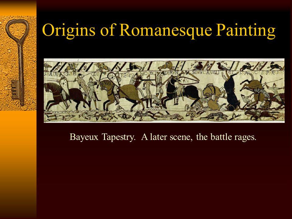 Romanesque Painting – St. Savin-sur-Gartemps Detail Vault