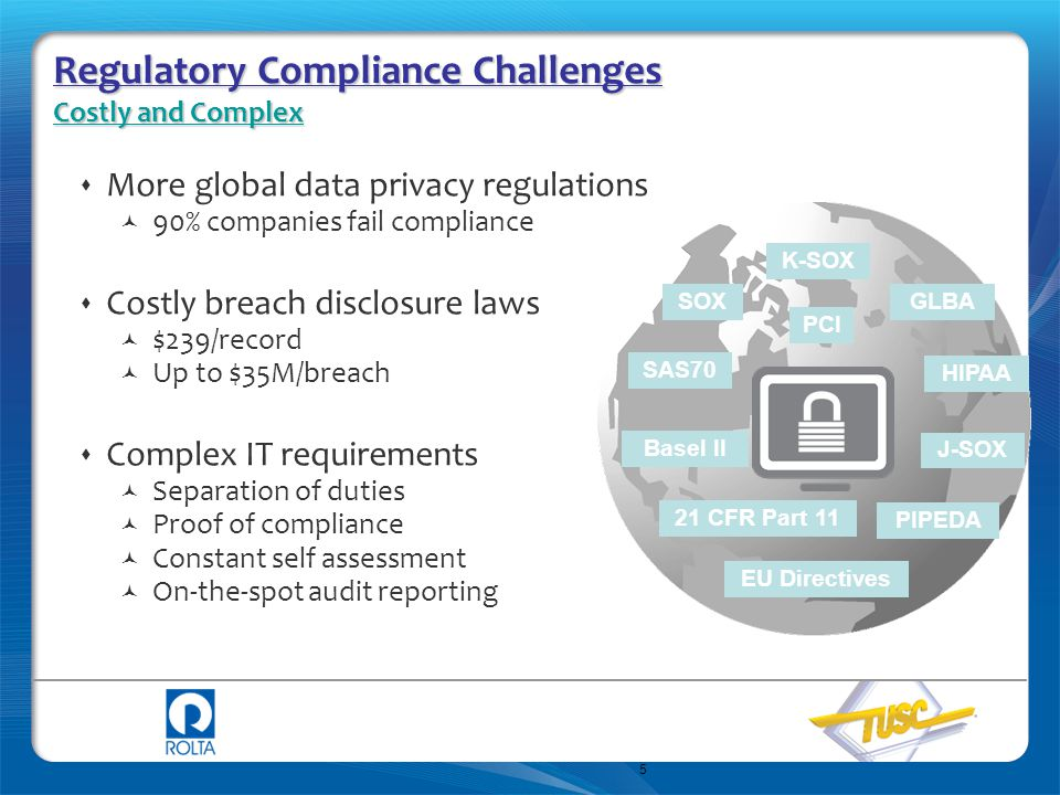 16 Data Privacy and Regulatory Compliance Database Security Focus Areas Protecting Access to Application Data Data Classification Database Monitoring Database Monitoring De-Identifying Information for Sharing Protecting Data- at-Rest