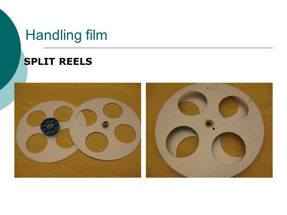 Handling film SPLIT REELS