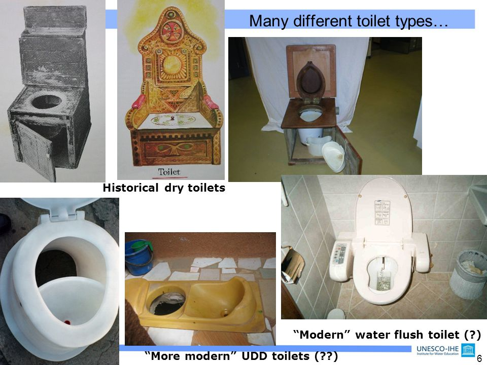 7 Should we be talking about ecosan toilets .