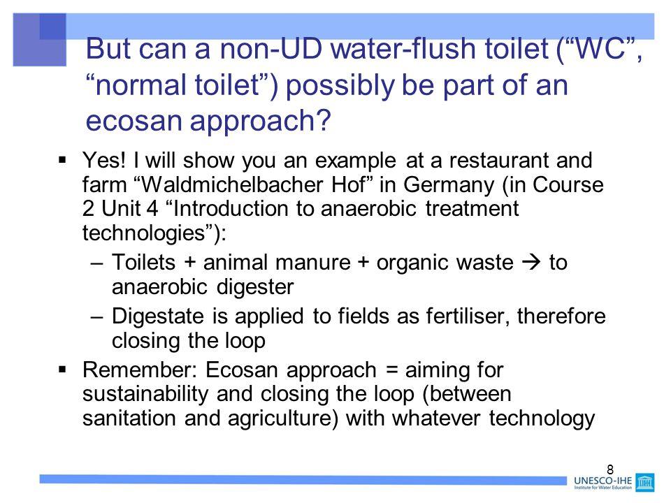 39 Prototype of waterless urinals for females CREPA, Ouagadougou, Burkina Faso, Oct.