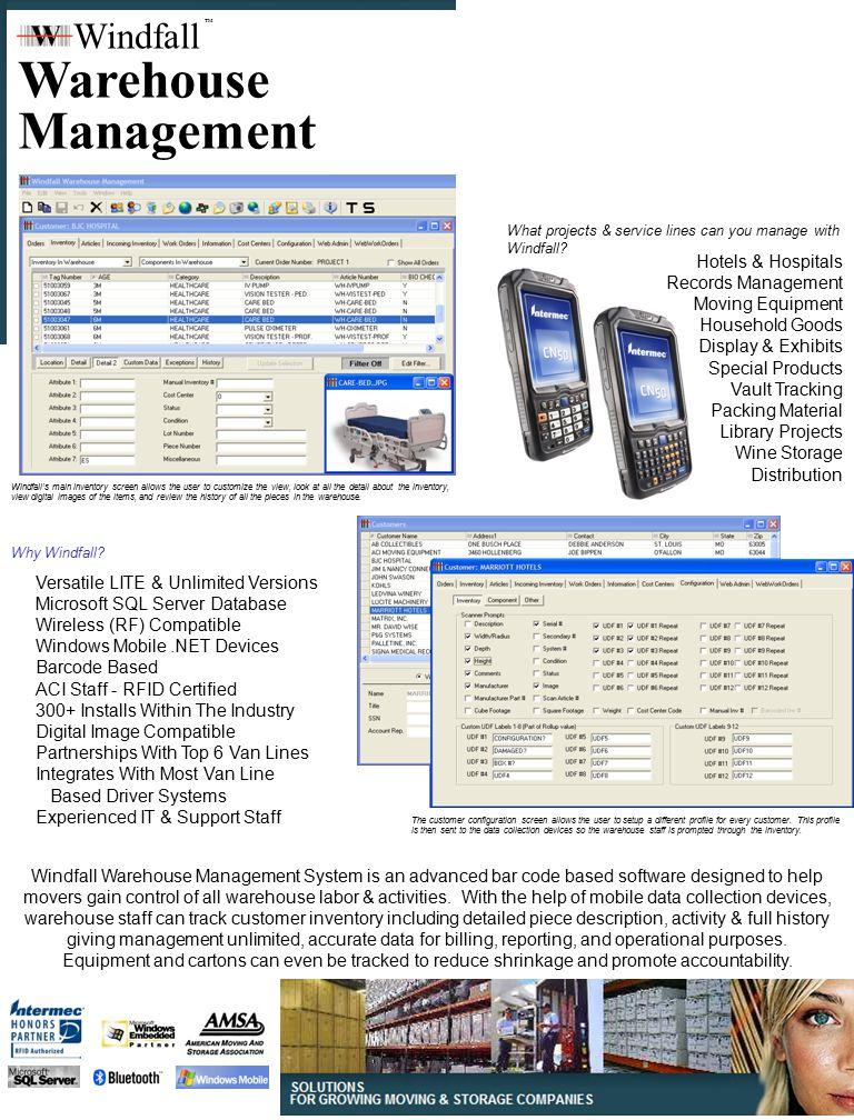 Windfall TM www.WindfallOnline.com 800-277-3814 St.