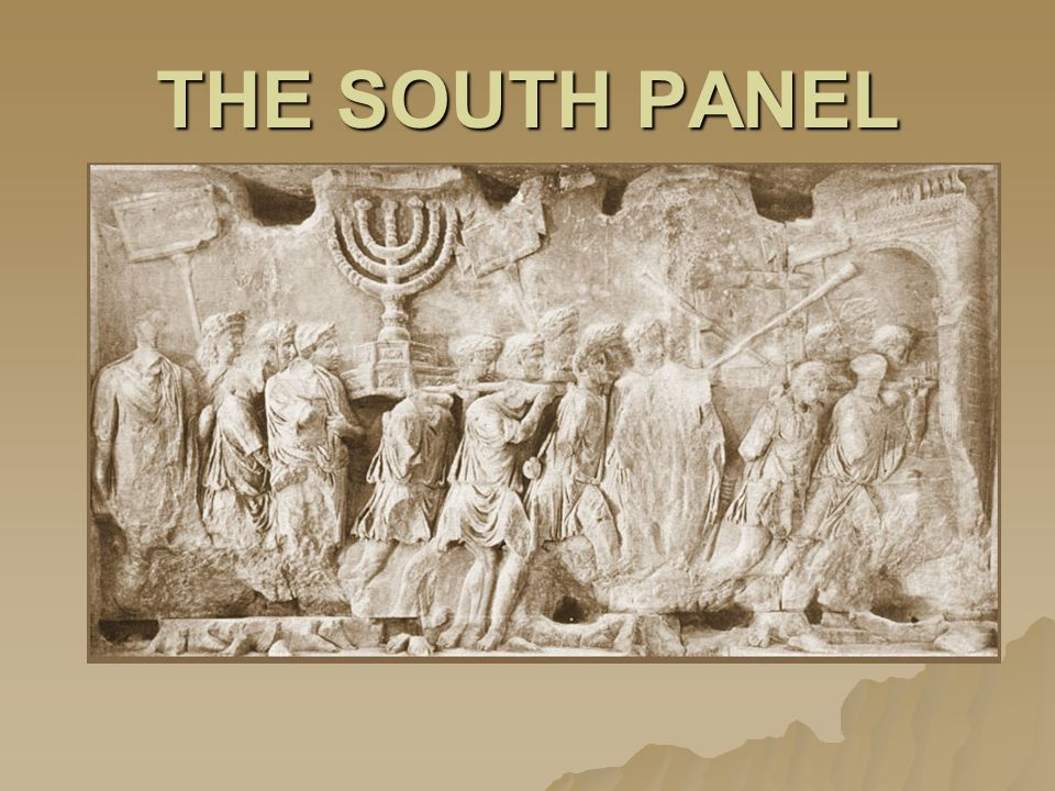 THE SOUTH PANEL