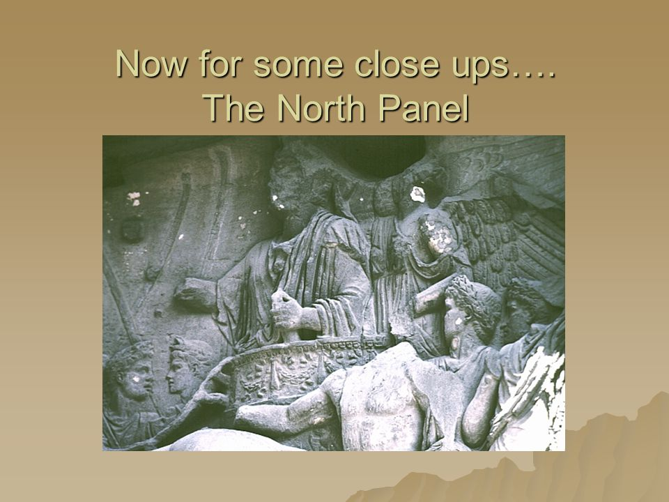 Now for some close ups…. The North Panel