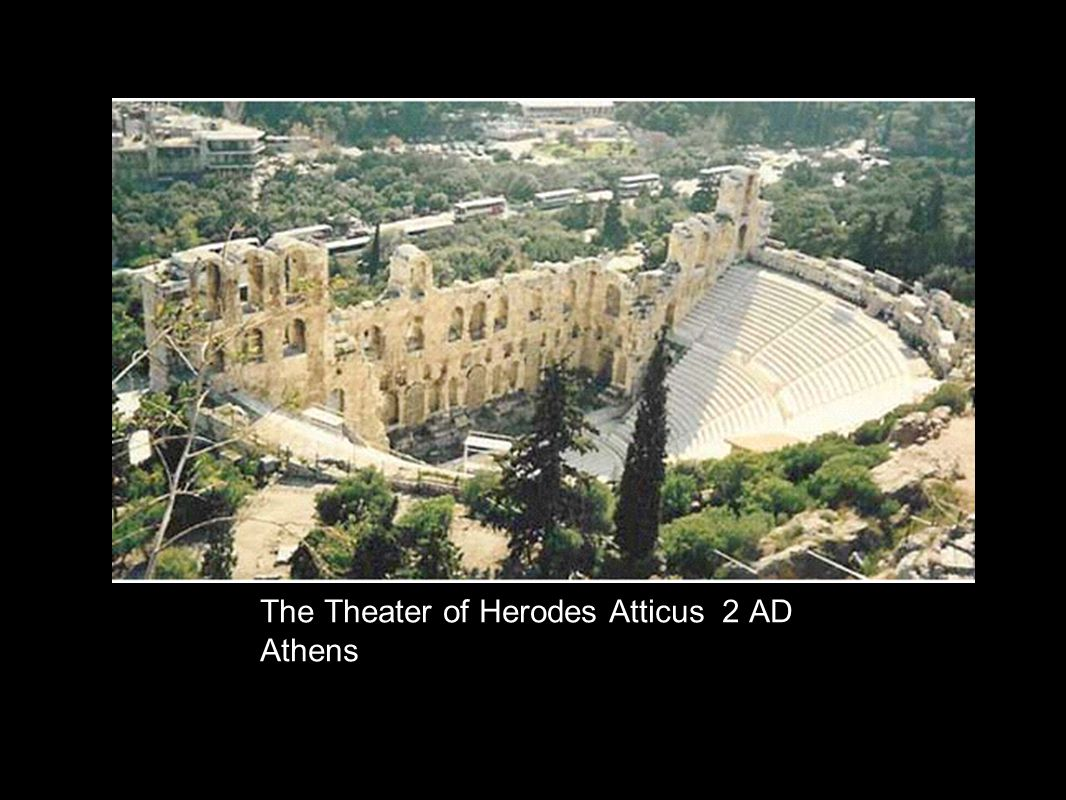 The Theater of Herodes Atticus 2 AD Athens