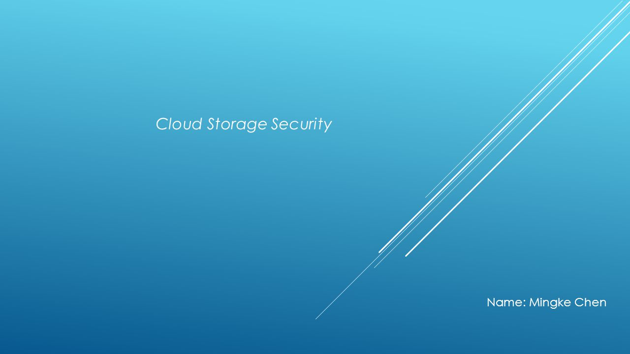 Cloud Computing Advantages: Security Privacy Disadvantages: Backup and Recovery Almost Unlimited Storage Efficiency and Performance Increasing