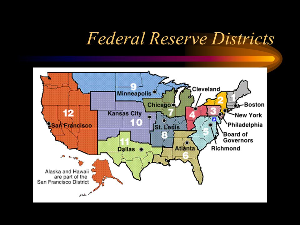Federal Reserve Districts