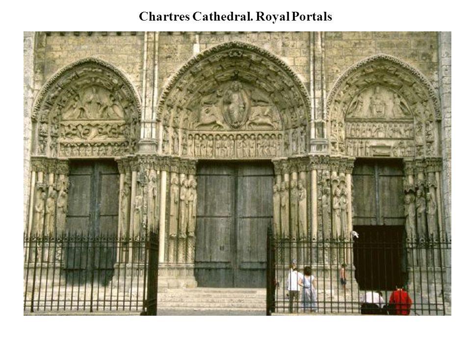Chartres Cathedral. Royal Portals