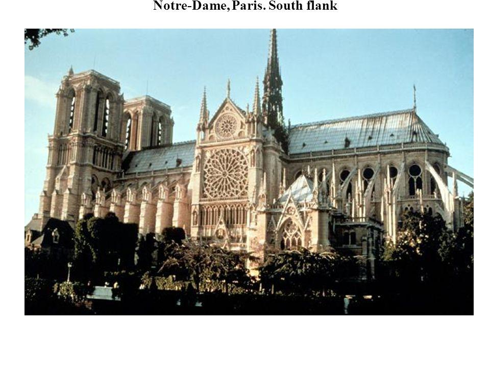 Notre-Dame, Paris. South flank