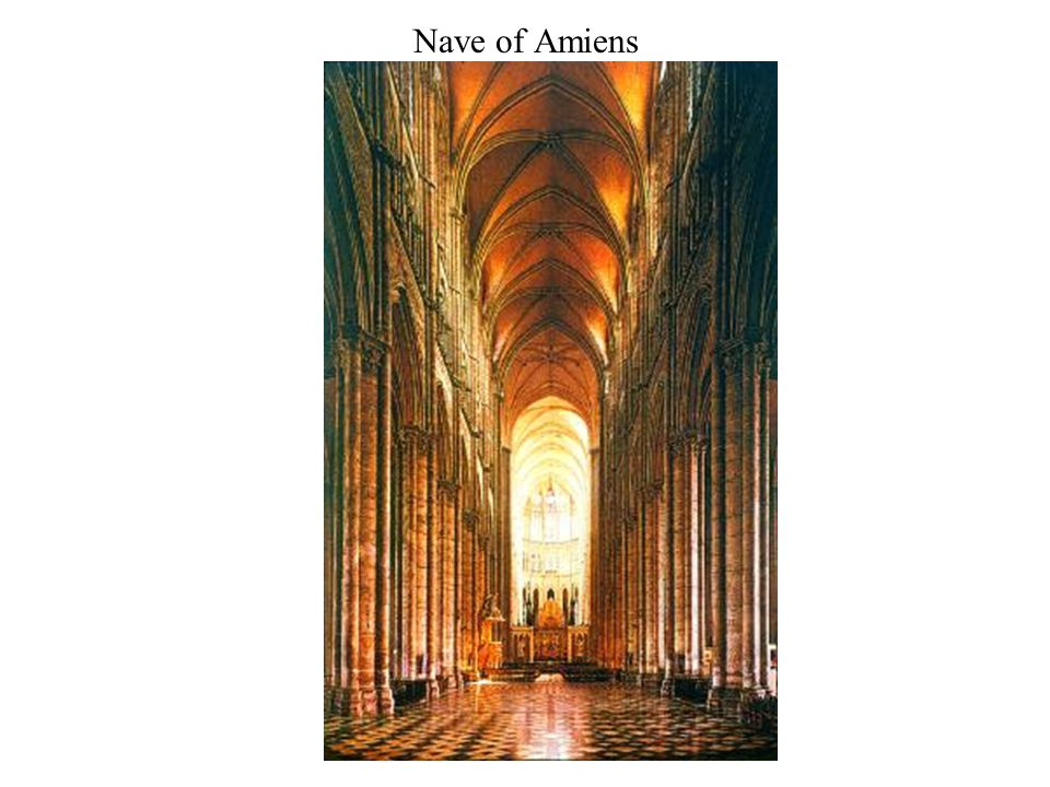 Nave of Amiens