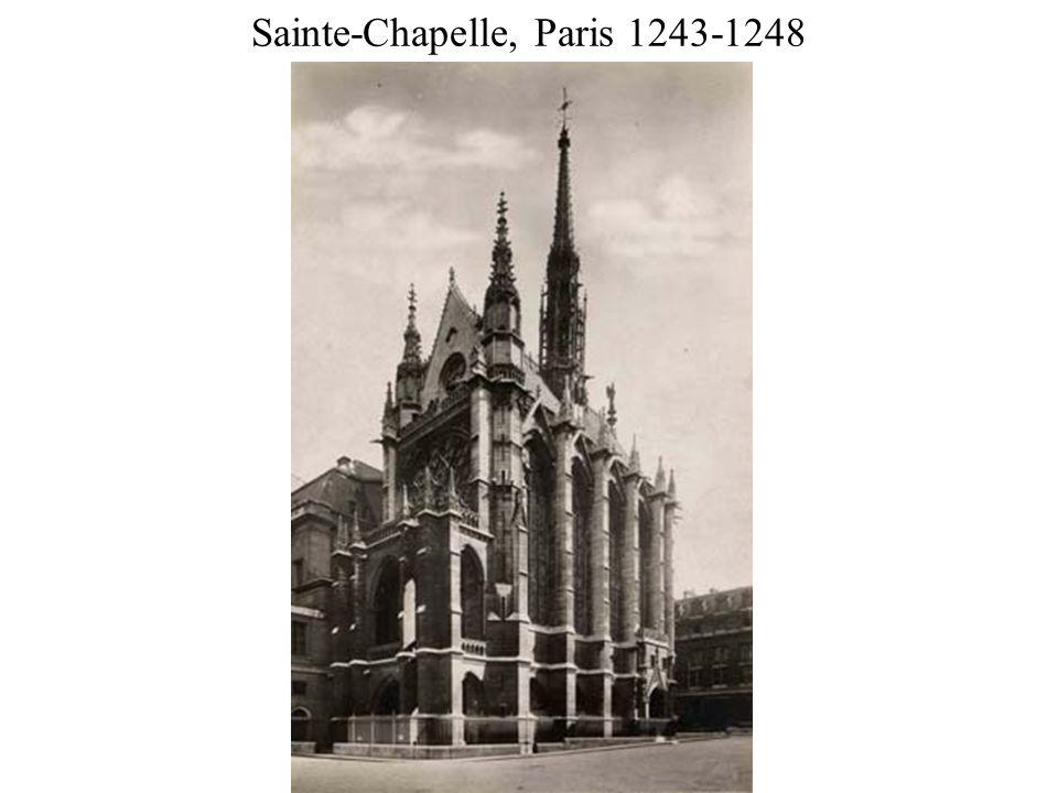Sainte-Chapelle, Paris 1243-1248