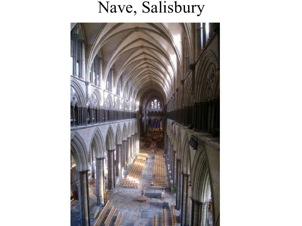 Nave, Salisbury