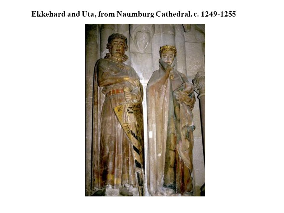 Ekkehard and Uta, from Naumburg Cathedral. c. 1249-1255