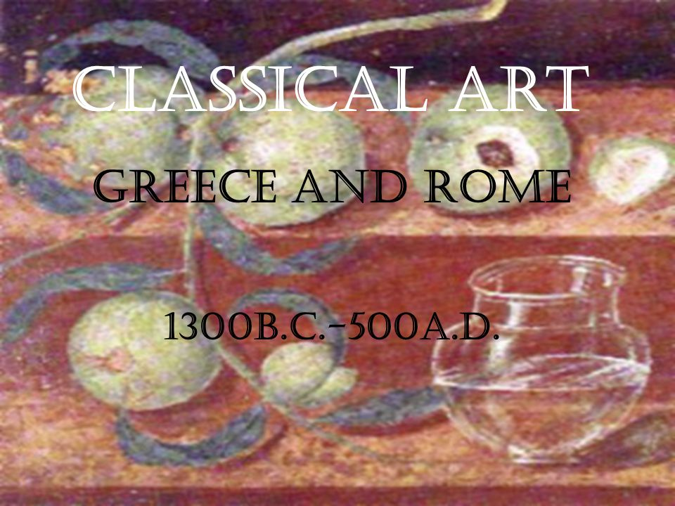 Roman Art The Organizers The poet Horace noted the irony: Conquered Greece, he wrote.
