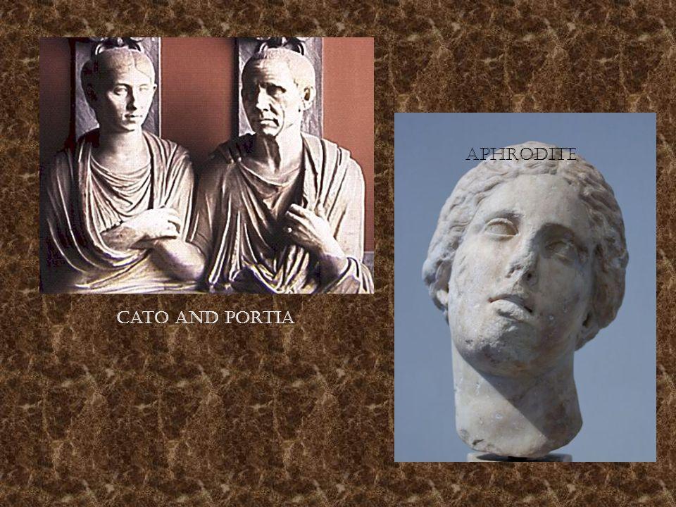 Cato and Portia Aphrodite