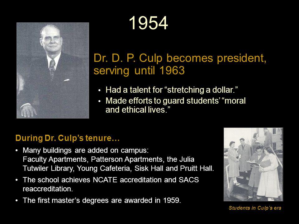 1954 Dr. D. P.