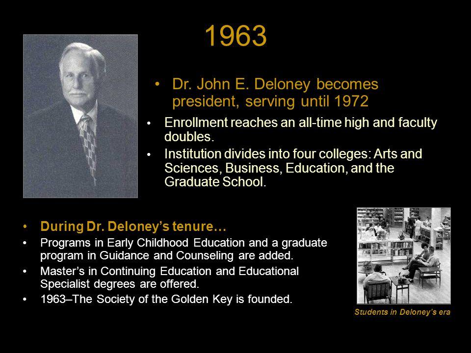 1963 Dr. John E.