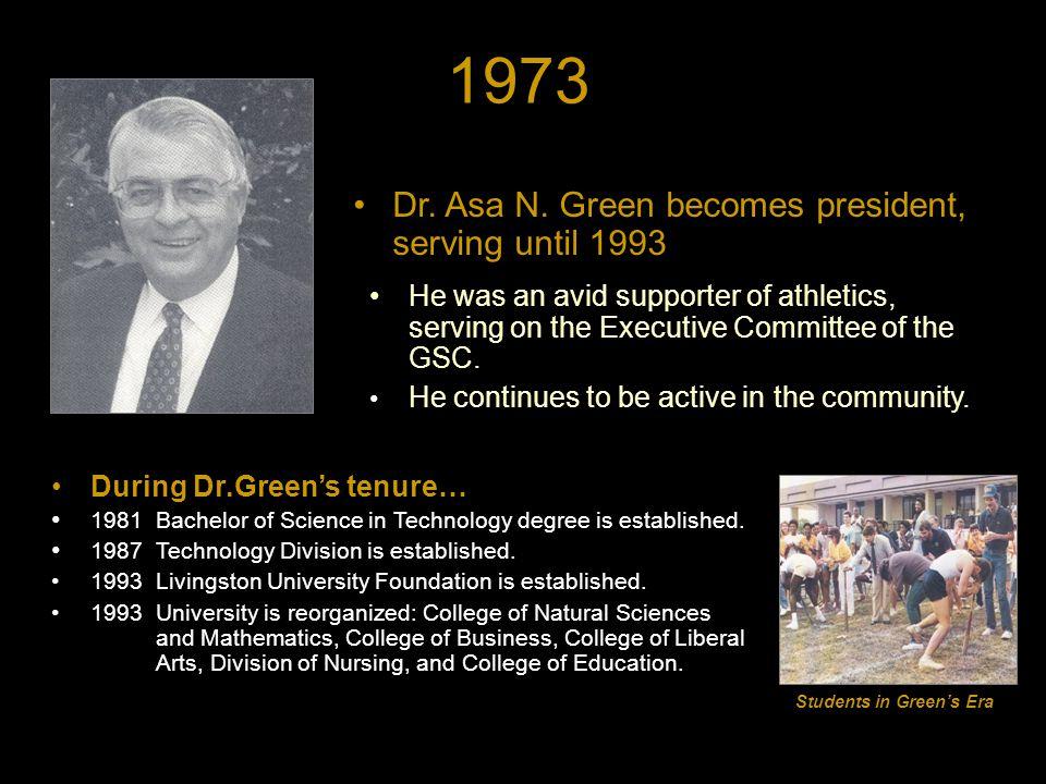1973 Dr. Asa N.