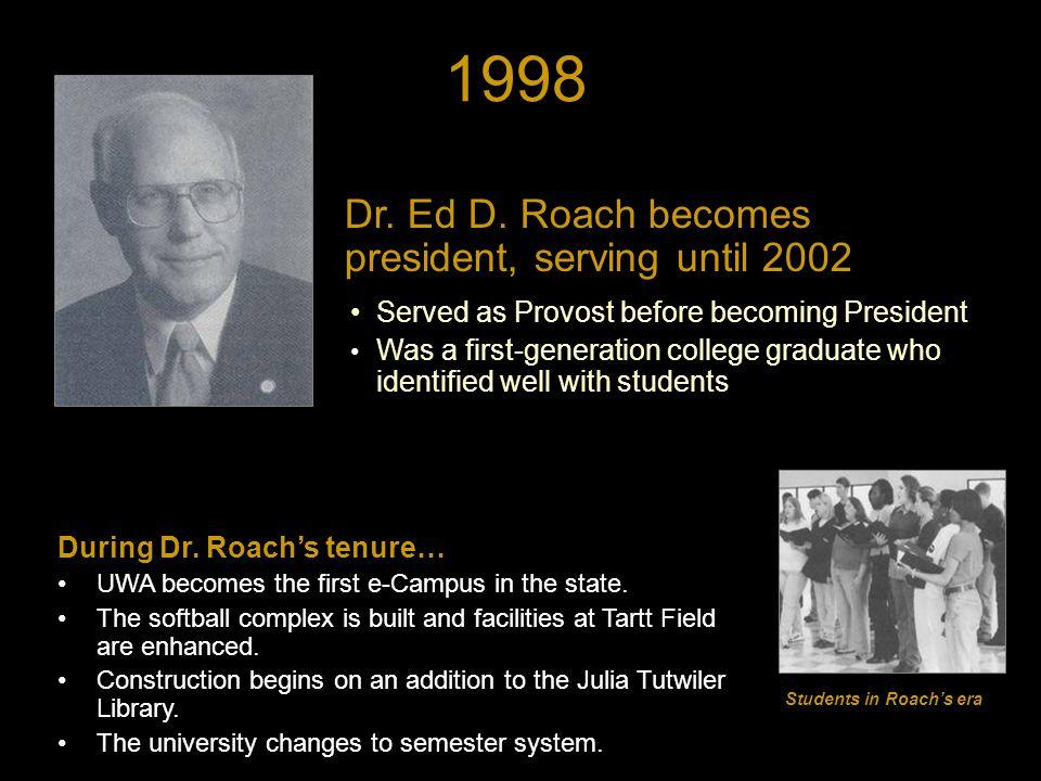 1998 Dr. Ed D.