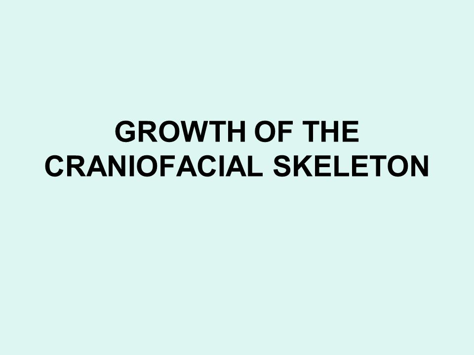 Functional matrix theory of growth If neither bone nor cartilage was the determinant for growth of the craniofacial skeleton, it would appear that the control would have to lie in the adjacent soft tissues.