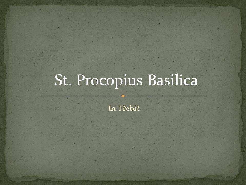 In Třebíč St. Procopius Basilica