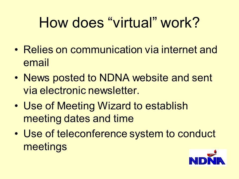 How does virtual work.