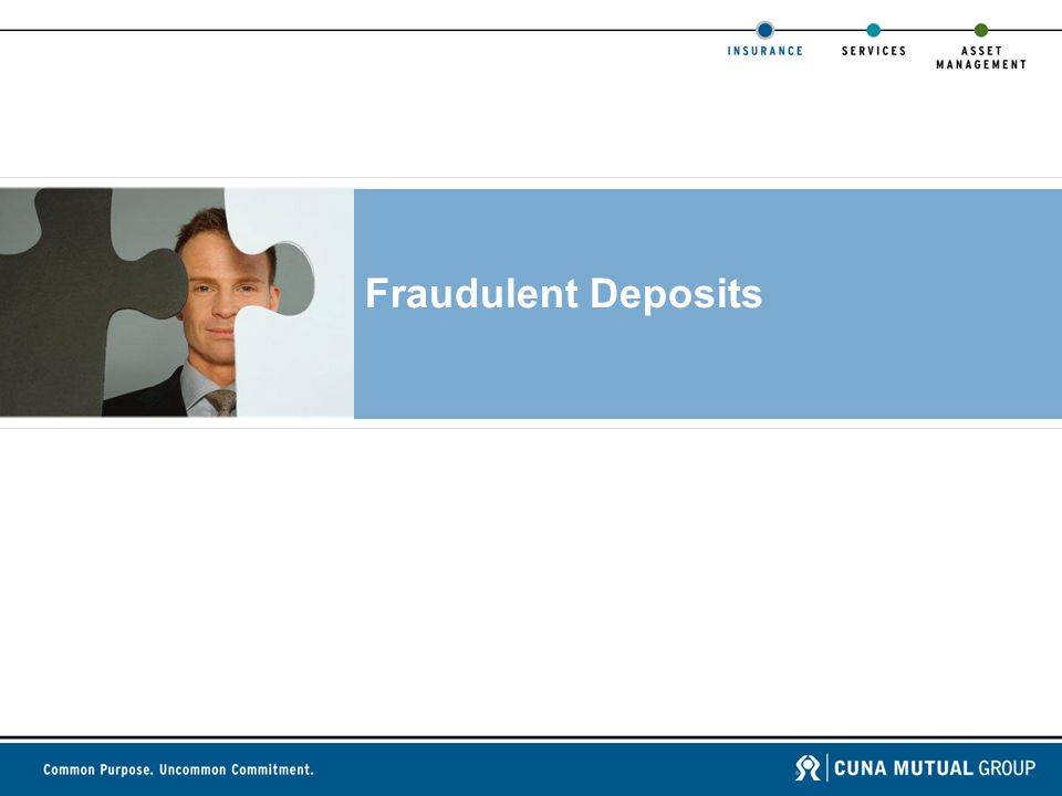Fraudulent Deposits