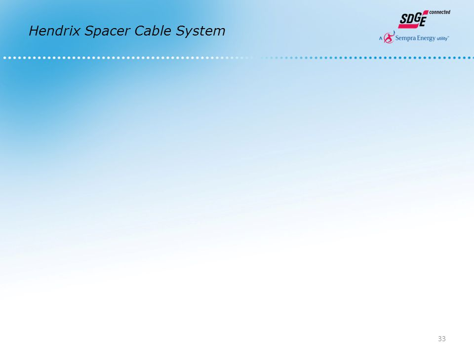 Hendrix Spacer Cable System 33