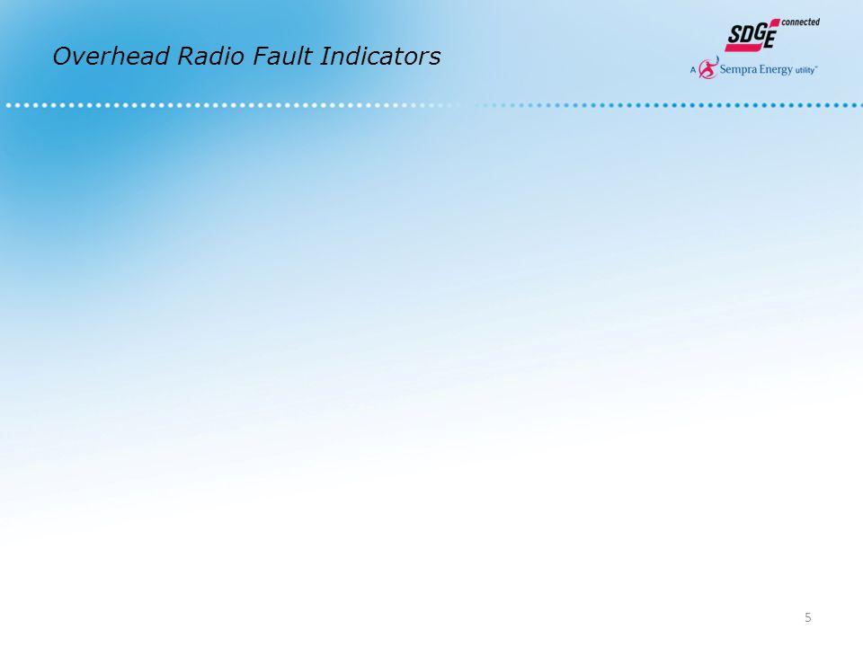 Overhead Radio Fault Indicators 5