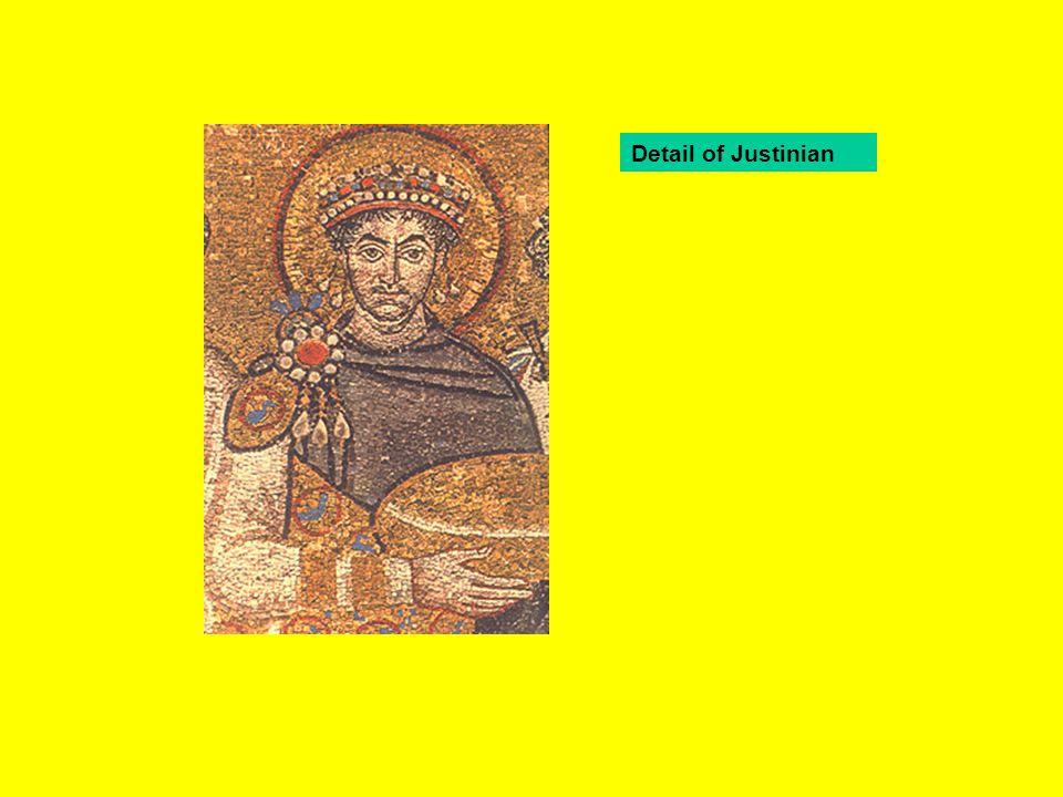 Detail of Justinian