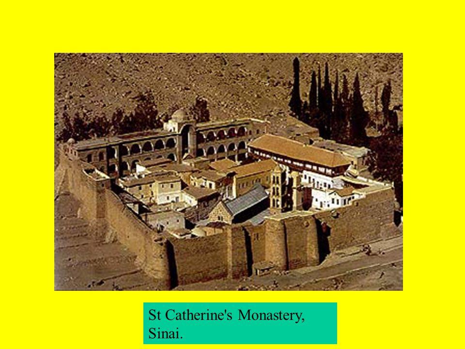St Catherine s Monastery, Sinai.