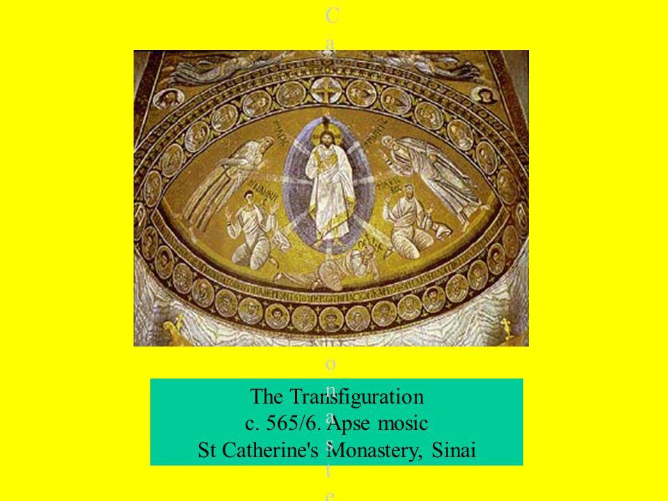 The Transfiguration c. 565/6.