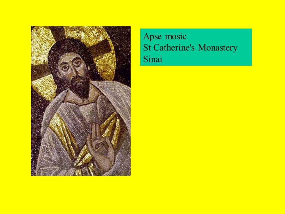 Apse mosic St Catherine s Monastery Sinai