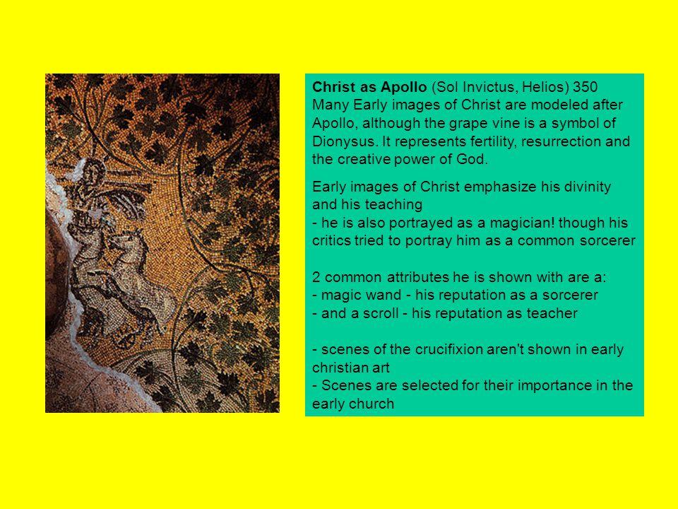 San Vitale, Ravenna.Apse mosaic of the theophany.
