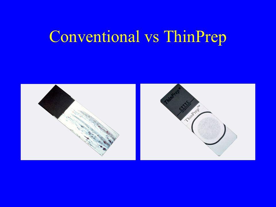Conventional vs ThinPrep