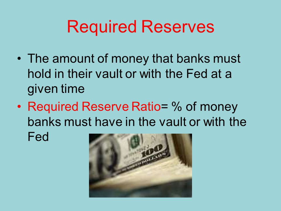 The Banking System Bank A Bank B Bank C Bank D Bank E Bank F Bank G Bank H Bank I Bank J Bank K Bank L Bank M Bank N Other Banks Bank (1) Acquired Reserves and Deposits (2) Required Reserves (Reserve Ratio =.2) (3) Excess Reserves (1)-(2) (4) Amount Bank Can Lend; New Money Created = (3) $100.00 80.00 64.00 51.20 40.96 32.77 26.21 20.97 16.78 13.42 10.74 8.59 6.87 5.50 21.99 $20.00 16.00 12.80 10.24 8.19 6.55 5.24 4.20 3.36 2.68 2.15 1.72 1.37 1.10 4.40 $80.00 64.00 51.20 40.96 32.77 26.21 20.97 16.78 13.42 10.74 8.59 6.87 5.50 4.40 17.59 $80.00 64.00 51.20 40.96 32.77 26.21 20.97 16.78 13.42 10.74 8.59 6.87 5.50 4.40 17.59 $400.00