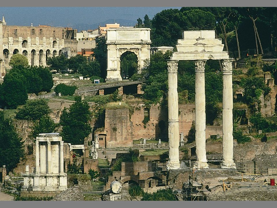[Image 4.6] The Roman Forum