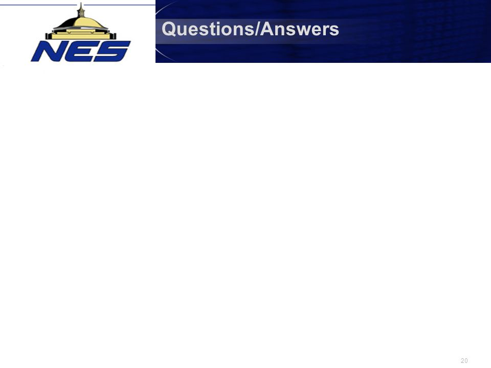20 Questions/Answers
