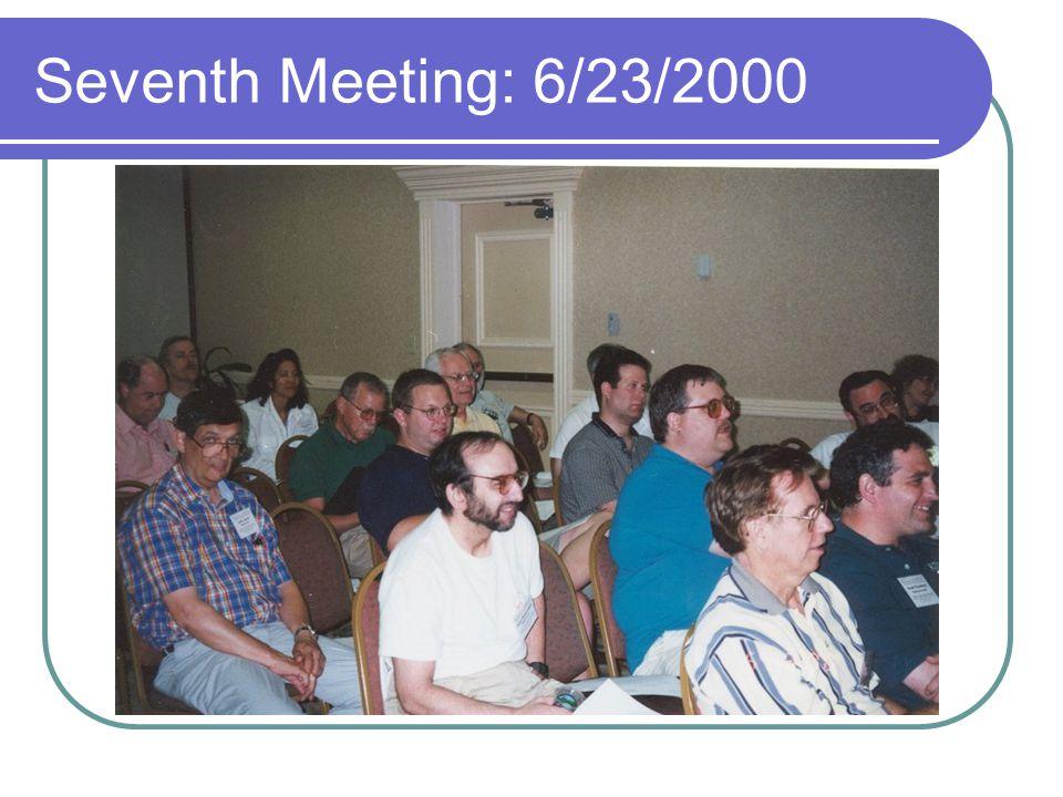 Seventh Meeting: 6/23/2000