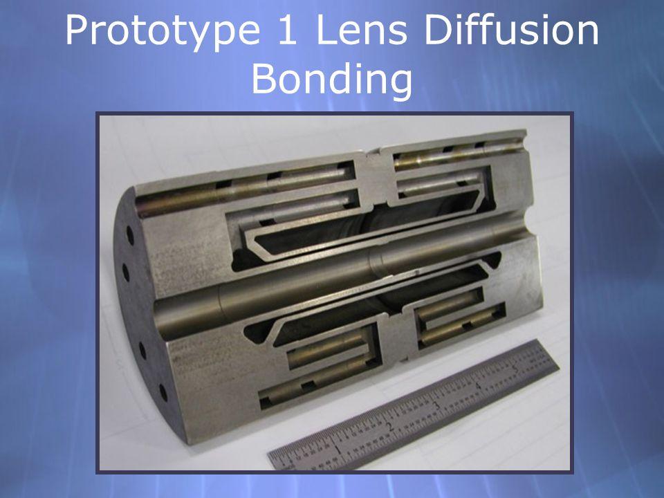 Prototype 1 Lens Diffusion Bonding