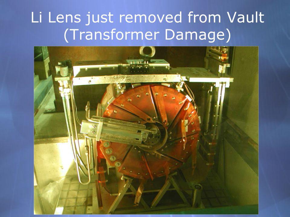 Li Lens just removed from Vault (Transformer Damage)