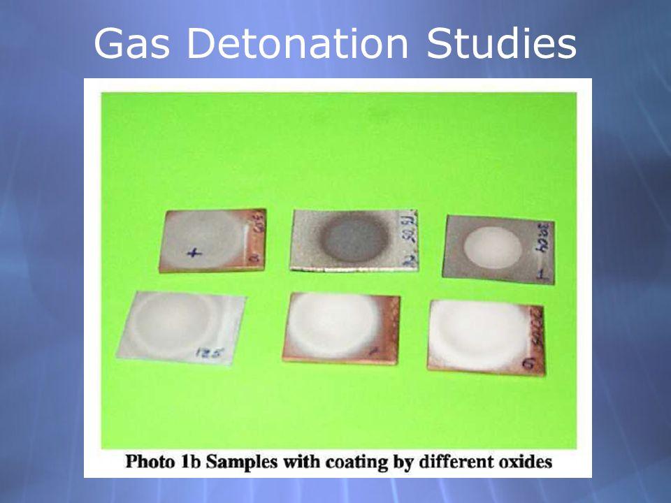 Gas Detonation Studies
