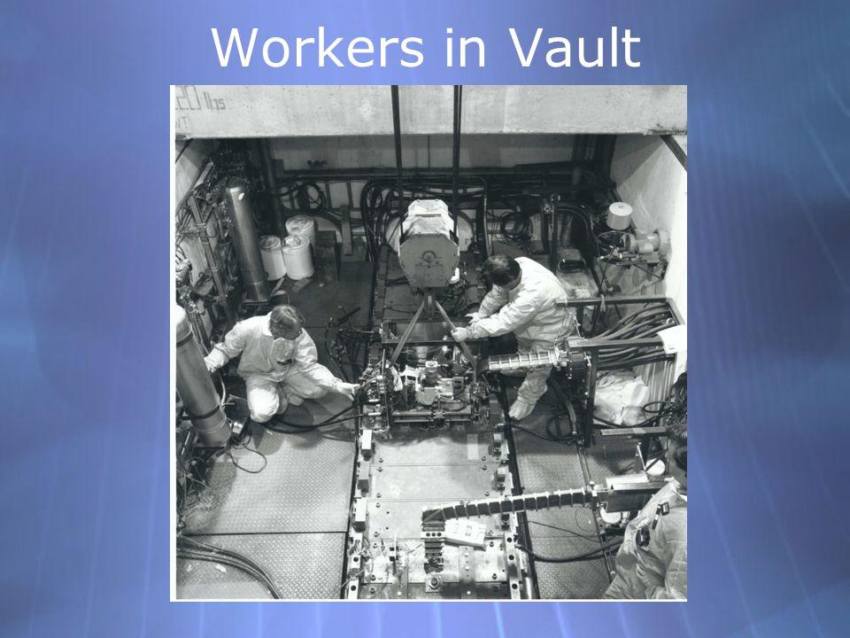 Workers in Vault