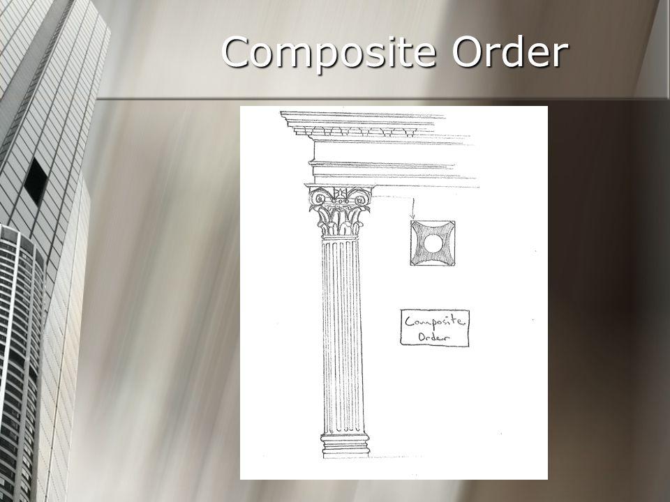 Composite Order Architectural Studies C-D
